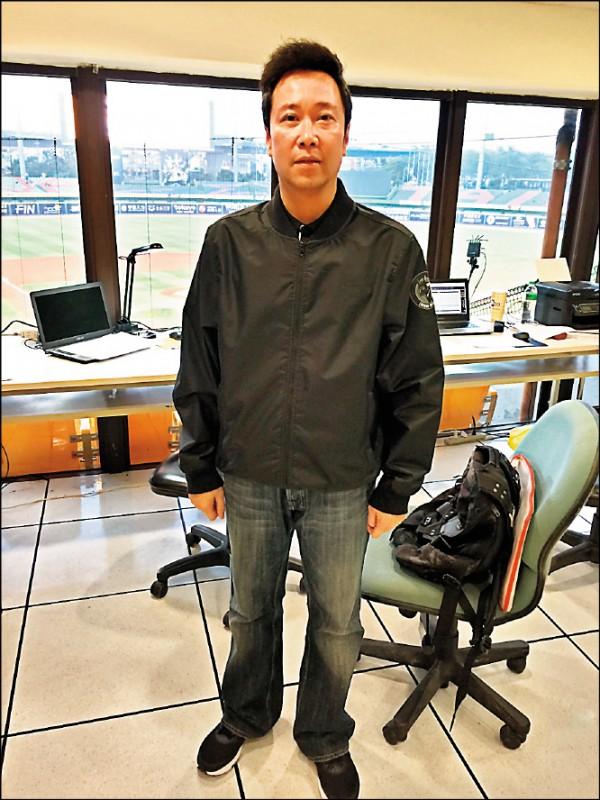 中職賽務部競技組副組長賴立偉。(資料照)