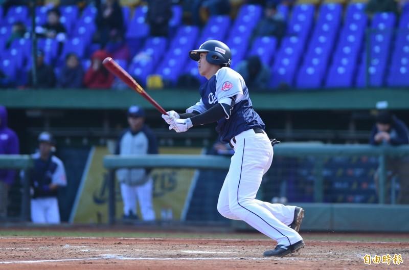 """冬季聯賽""""在職業隊10-0勝韓國職業隊敲16安寫這個單隊單數"""