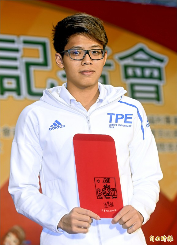 王星皓明年2月將前往美國移地訓練。(記者林正堃攝)