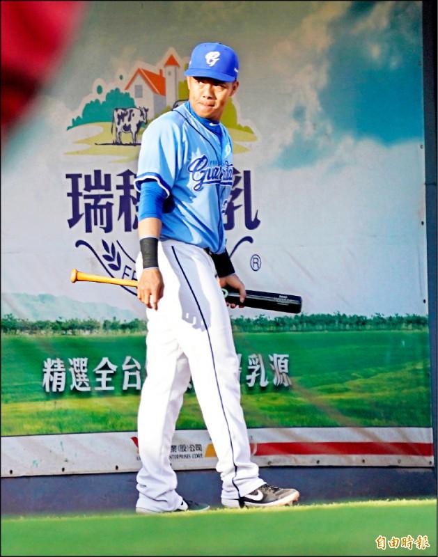 悍將陳凱倫(記者黃志源攝)