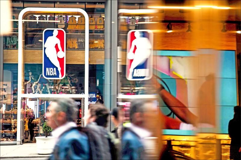 NBA將朝打滿完整例賽方向規劃復工。(資料照,法新社)