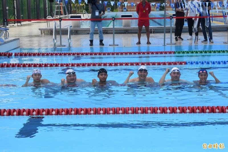 游泳》與兩大奧運國手試泳 體育署長高俊雄竟「偷跑」?