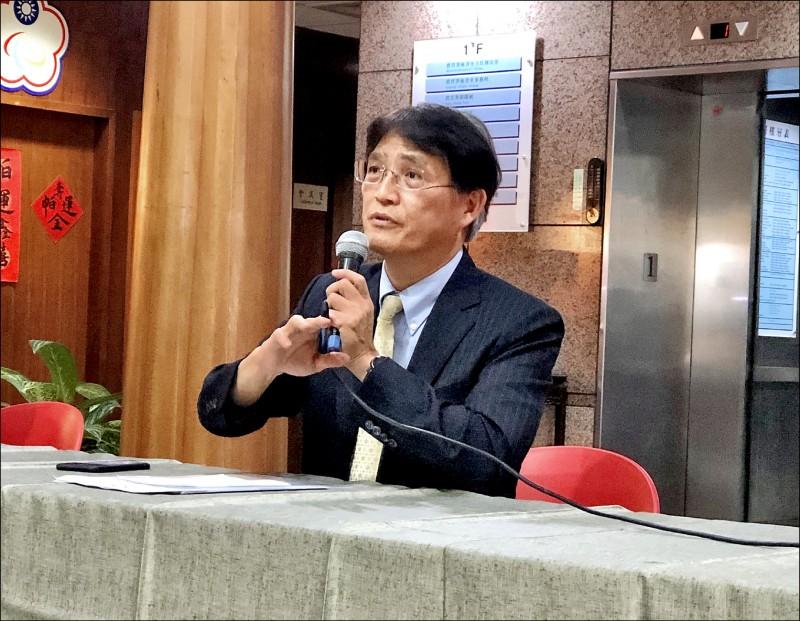 體育署長高俊雄按規劃在12日借調期滿後卸任。(資料照)
