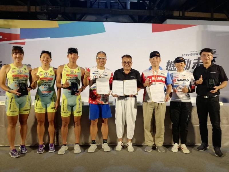 MIT品牌推動體壇之星計畫 與台灣鐵人冠軍與全運金牌攜手合作