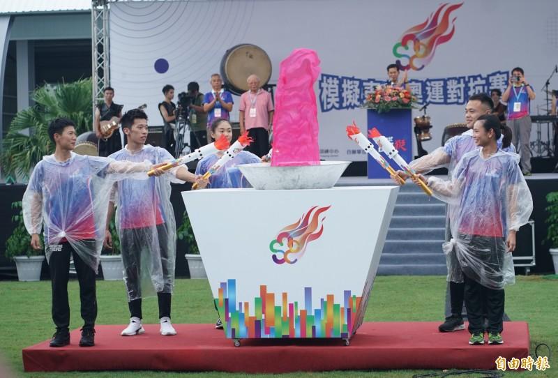 東奧模擬賽》還有開幕式 戴資穎、李智凱、鄭兆村傳聖火有意義