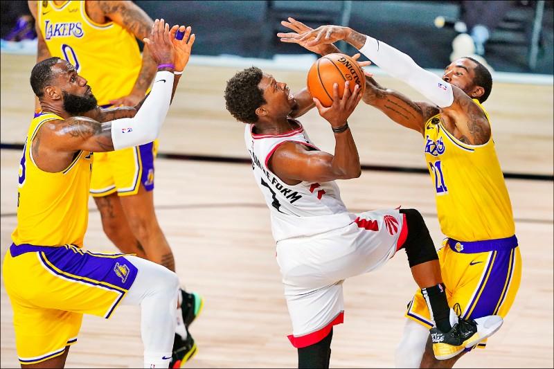 NBA》暴龍復賽首戰痛宰湖人- 自由體育