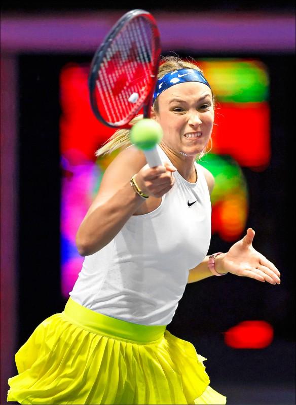 WTA暌違5個月復賽,由巴勒摩女網率先重啟,克羅埃西亞維姬琪搶頭香,晉級16強。(資料照)
