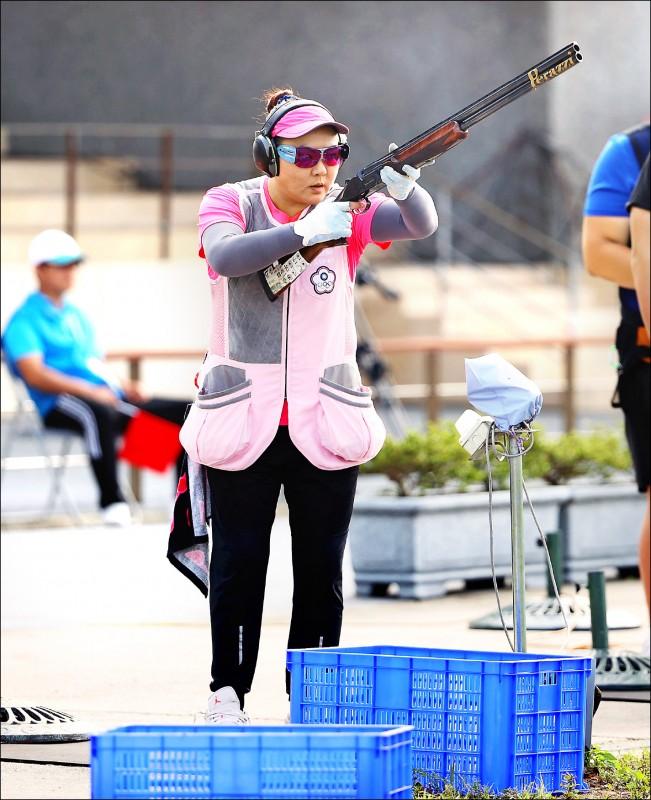林怡君把模擬賽當作奧運會準備,狀態維持在顛峰。(大會提供)