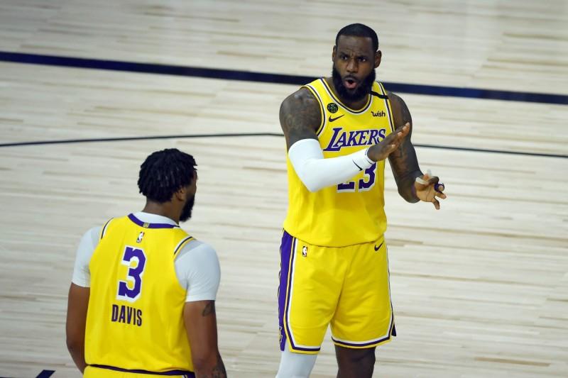 NBA》被老大哥「詹皇」點名要加油 AD發文霸氣回應