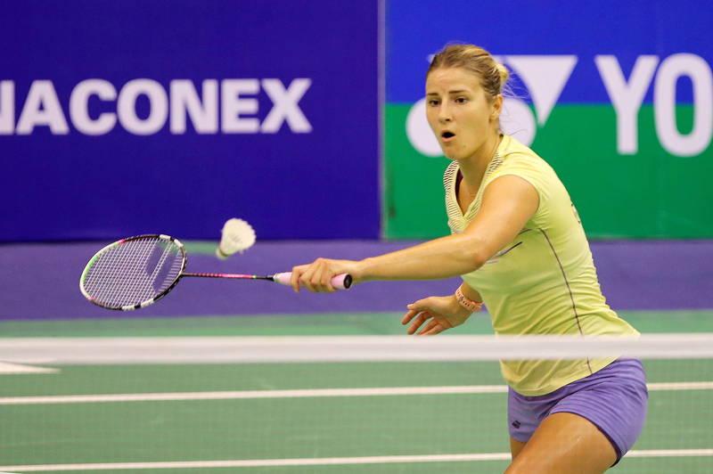 丹麥羽球賽》德國女將因病差點放棄當球員 這一勝讓她跪地掩面