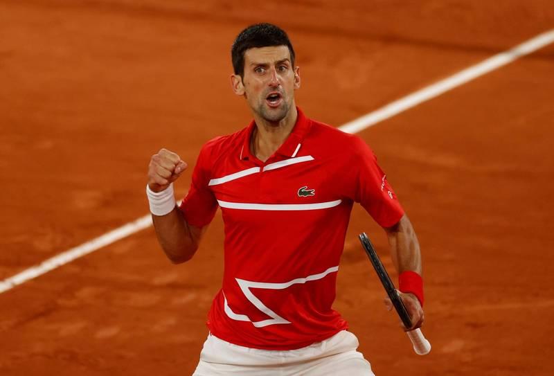網球》搶積分穩龍頭!喬帥放棄衛冕巴黎名人賽