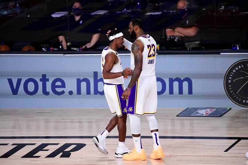 NBA》朗度感性道別 湖人老大哥詹姆斯親獻祝福