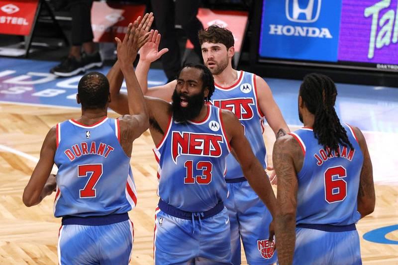 哈登籃網首戰飆大三元奪勝 今日NBA戰績