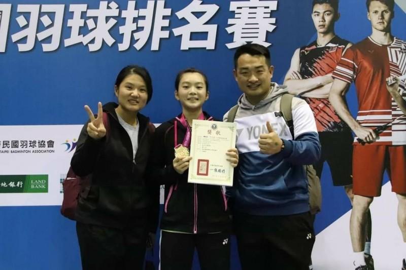 羽球》 屏東王珮妤晉升甲組國手 創近40年來紀錄 - 自由體育