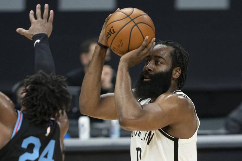 NBA》第9週單週最佳球員出爐 哈登、小李子獲選