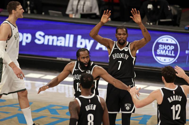 NBA》史上僅2支球隊辦到! 1數據證明籃網本季太強大