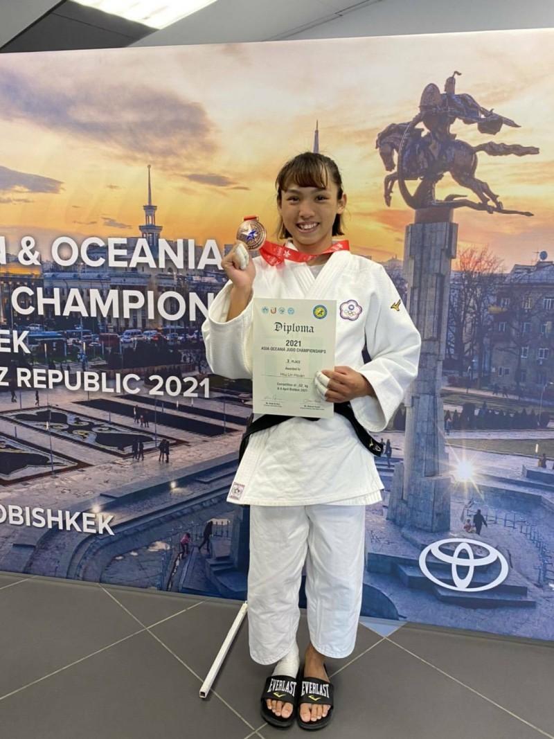 2021亞洲大洋洲柔道錦標賽 東大許琳宣勇奪季軍