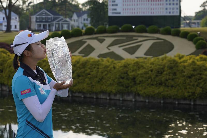 純絲錦標賽 徐薇淩勇奪LPGA生涯首冠
