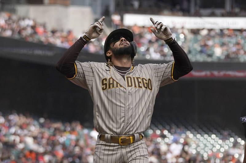 [新聞] SPC-MLB》小塔提斯敲本季第39轟!教士擊敗巨人近逼外卡席位
