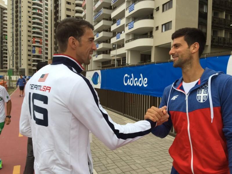 奧運》選手村巧遇喬帥 飛魚卻因這件事好傷心