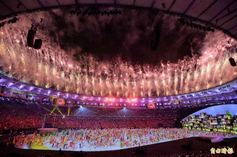 里約奧運開幕式盛大登場!(圖輯)