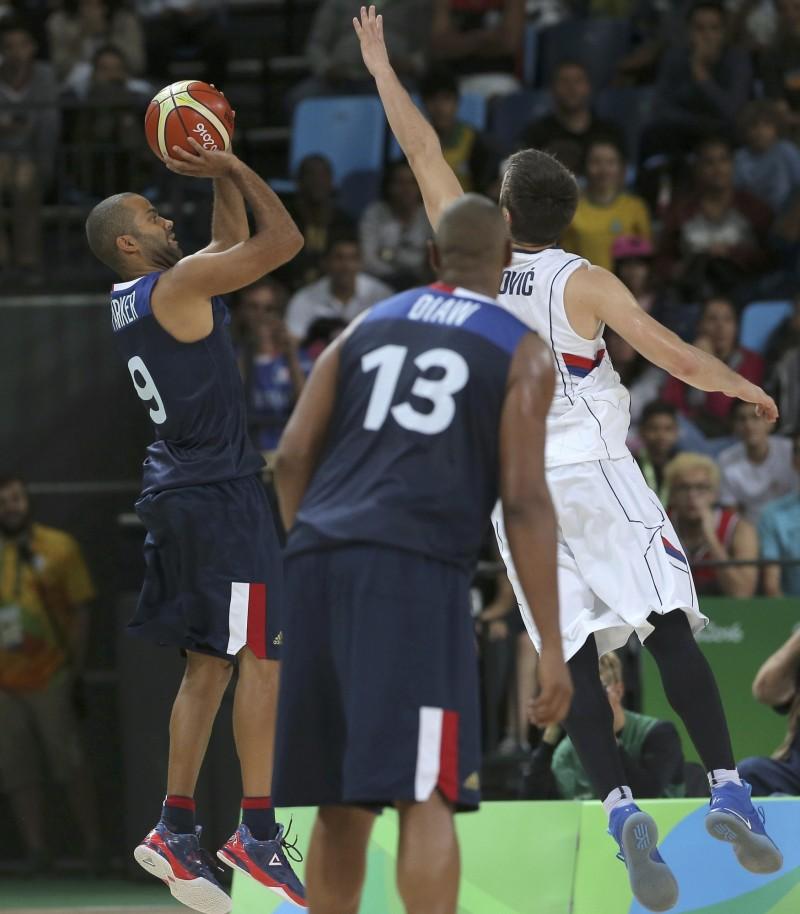 奧運》帕克關鍵跳投 法國險勝塞爾維亞