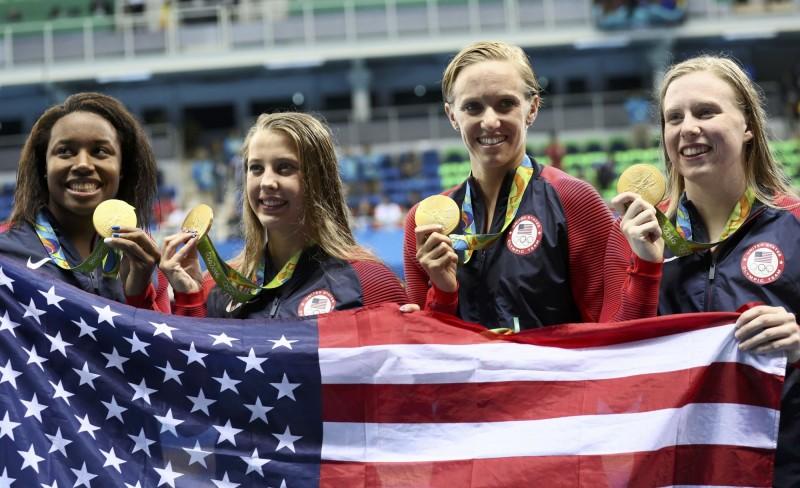奧運》史上第一千金 美國隊寫下奧運紀錄