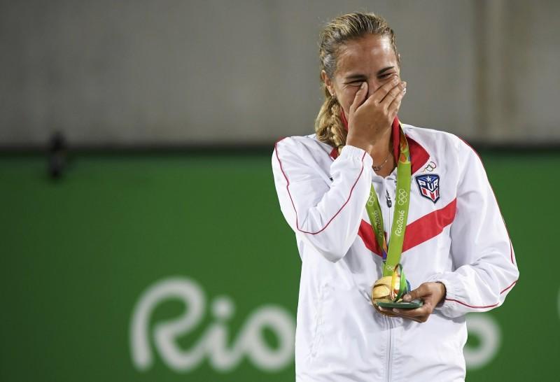 奧運》奪波多黎各歷史首金 女將痛哭:我讓國家團結