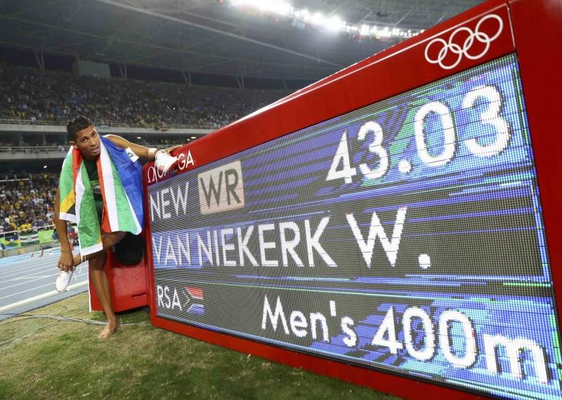奧運》史上最強第八道 南非好手締造400公尺世界紀錄
