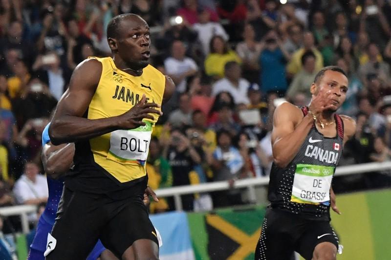奧運》沒再轉頭打招呼 波爾特改用眼神偷喵