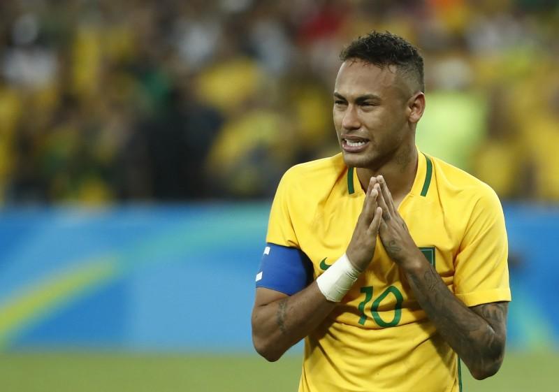奧運》奪國家足球首金 內馬爾泣:生命中最棒的時刻