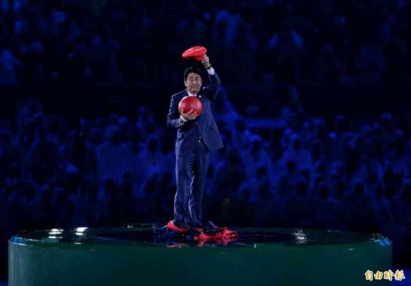 奧運》安倍變身瑪利歐 日本接棒影片超有梗