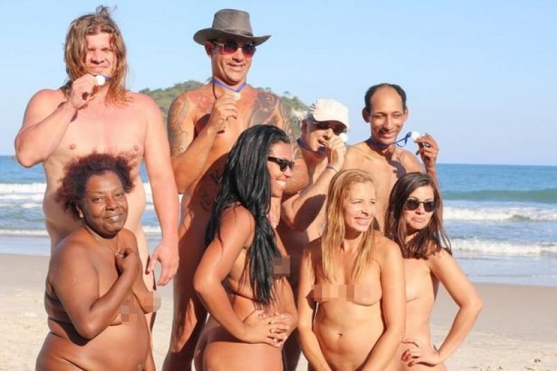 里約奧運剛結束 「裸體奧運」正打得火熱