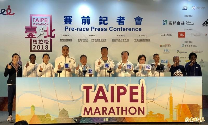 路跑》「邁向銅標」台北馬拉松週日開跑 謝千鶴挑戰個人最佳