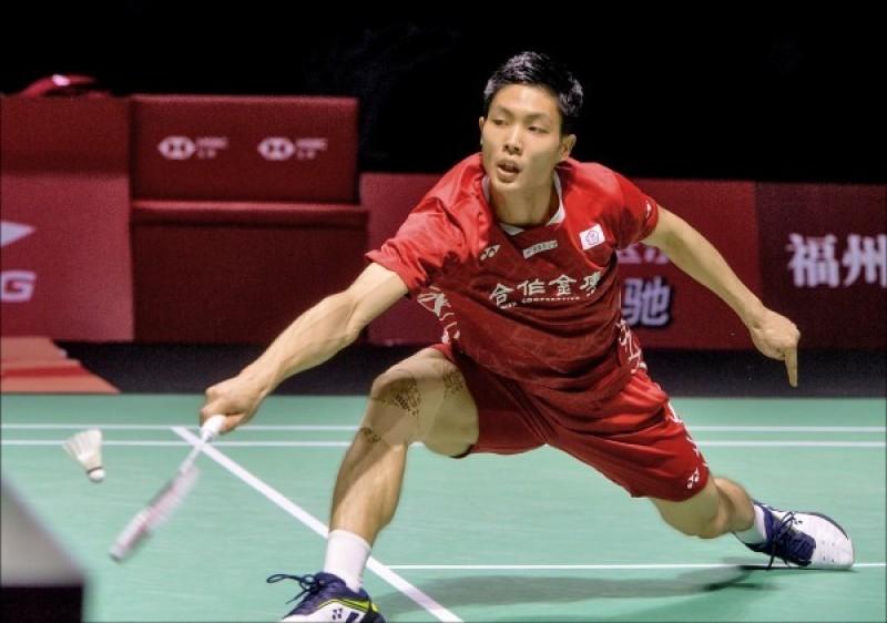 羽球年終賽》台灣一哥周天成明晚8點登場 對中國、南韓一哥連勝中