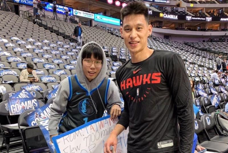 NBA》飛7700英哩找林書豪 台灣球迷美夢成真