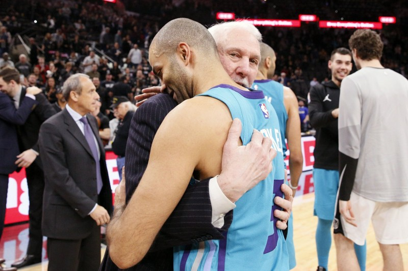 NBA》帕克溫馨回馬刺 波總告白:我們情同父子(影音)