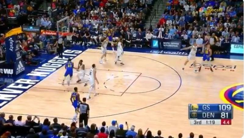 NBA》柯瑞神扯三分球! 勇士三巨頭合飆難得紀錄 (影音)