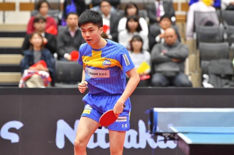 桌球》打爆日本「怪物少年」 林昀儒日本T聯賽首勝開胡