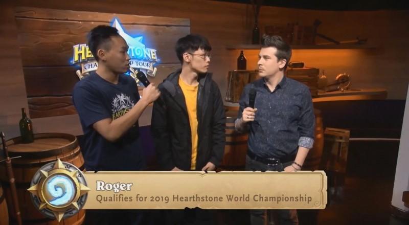 電競》Roger晉級《爐石戰記》冬季賽4強 取得全球冠軍賽門票