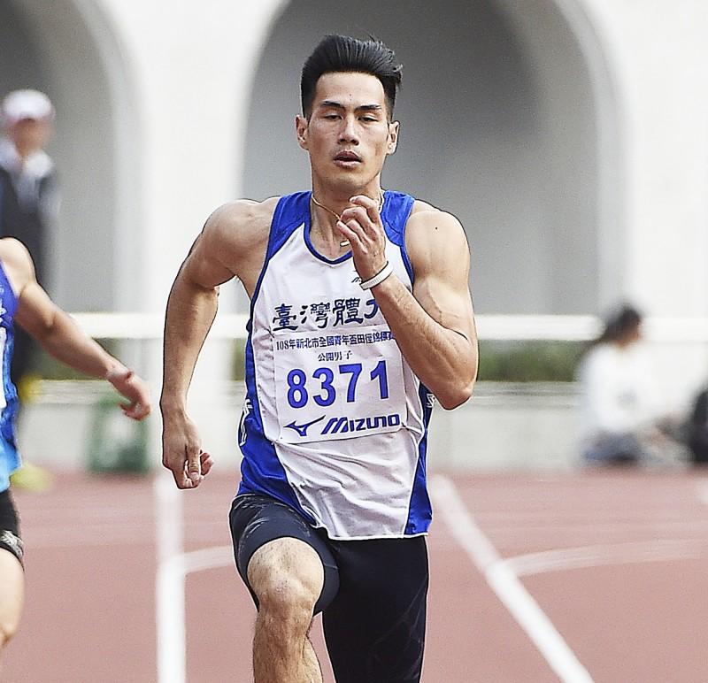 田徑》楊俊瀚200公尺輕鬆破大會 田徑場大騷動(影音)