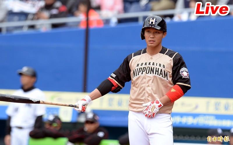 MLB海外熱身賽Live》王柏融繳3支1  運動家、火腿言和