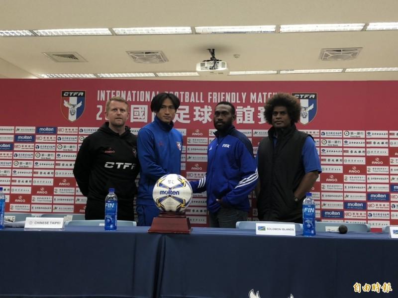 足球》台灣男足明戰索羅門 新主帥蘭卡斯特主場首戰