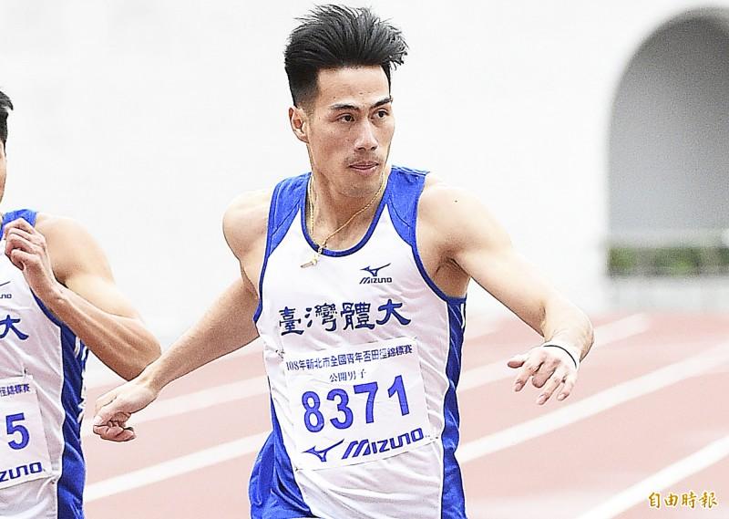 田徑》「台灣最速男」楊俊瀚年度首場100公尺 飆出金牌佳績