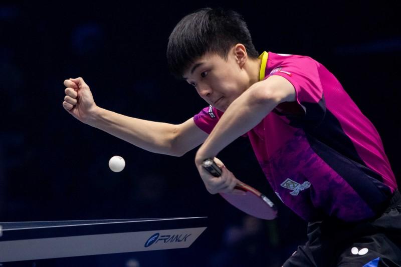 桌球》ITTF男子世界盃 林昀儒首度拿到門票