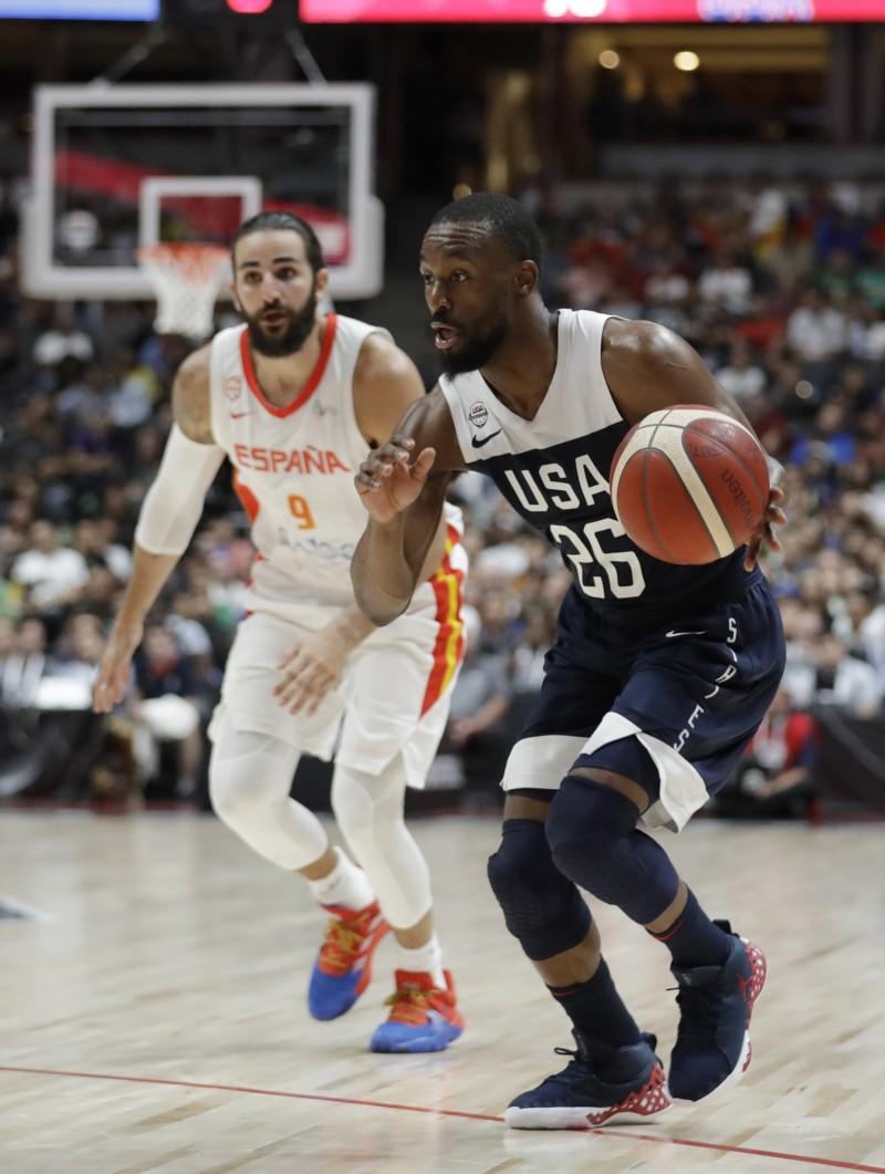 NBA》沃克、 米契爾聯手出擊 美國隊熱身賽首戰勝西班牙