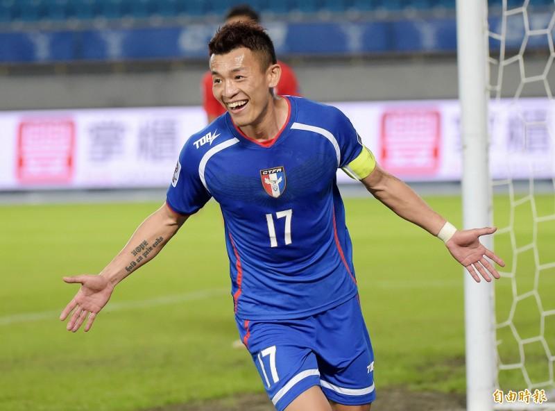 足球》「不知道還有幾個4年」 台灣隊長全力一搏