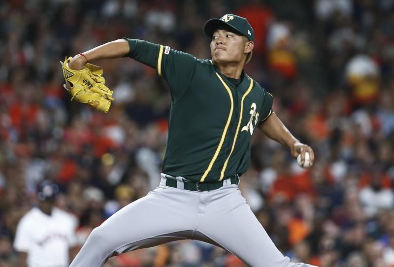MLB》運動家升上頂級左投大物 王維中遭下放