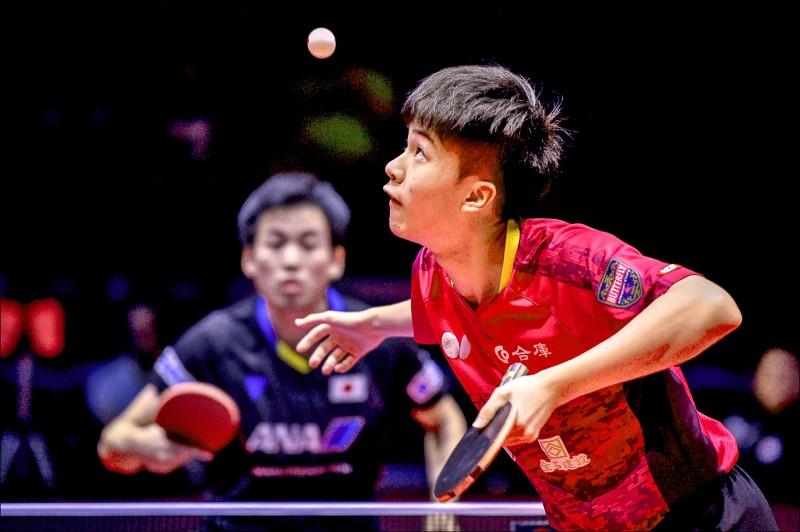 捷克桌球公開賽》18歲vs.38歲 林昀儒拚決賽門票