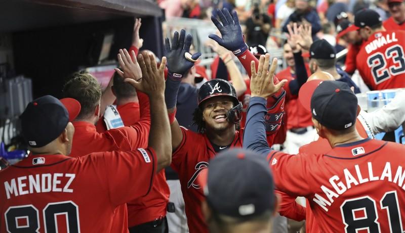 MLB》阿庫尼亞開轟達成百打點 勇士連兩年國聯東區封王